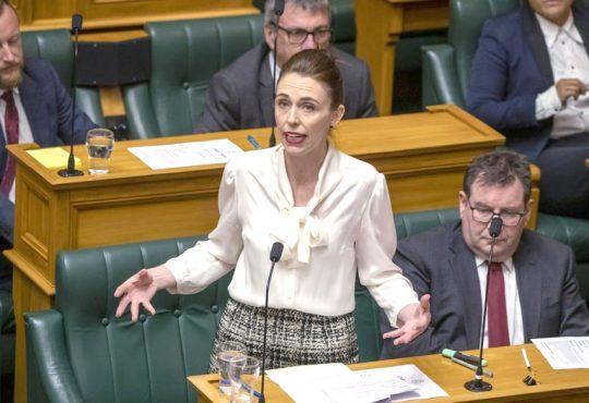 New Zealands Prime Minister Jacinda Ardern