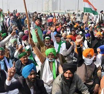Protesting farmers 1