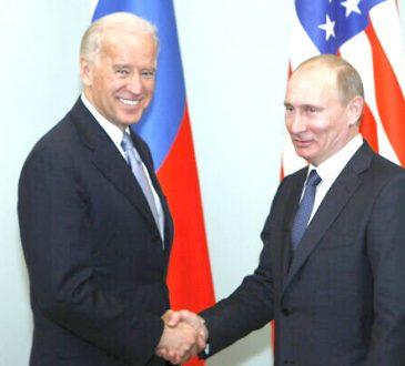 Putin congratulates Biden