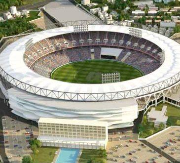 Sardar Patel Motera Stadium in Ahmedabad Gujarat