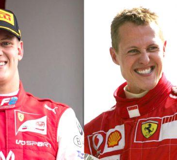 Schumacher son Mick