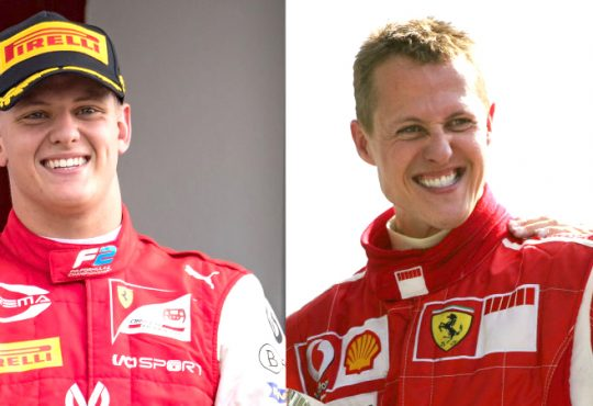 Schumacher son Mick