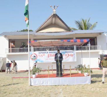 Statehood Day celebration at Dimapur