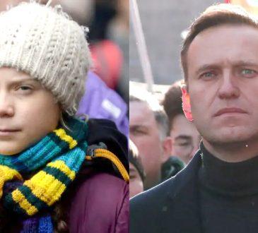 Alexei Navalny Greta Thunberg