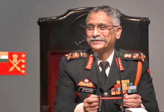Army Chief Manoj Mukund Naravane