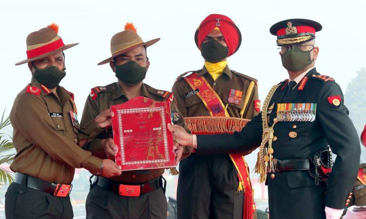 Army Staff citation award