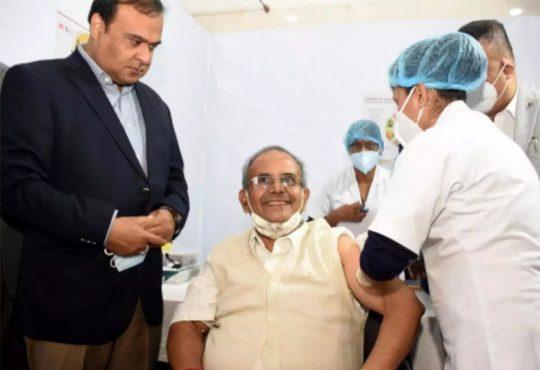 Assam vaccination drive