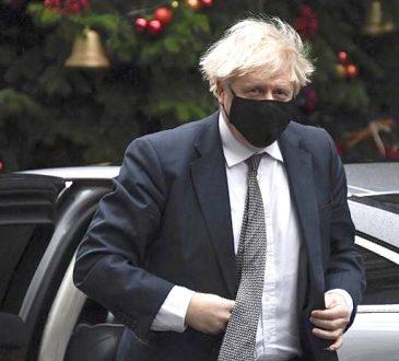 Britains Prime Minister Boris Johnson