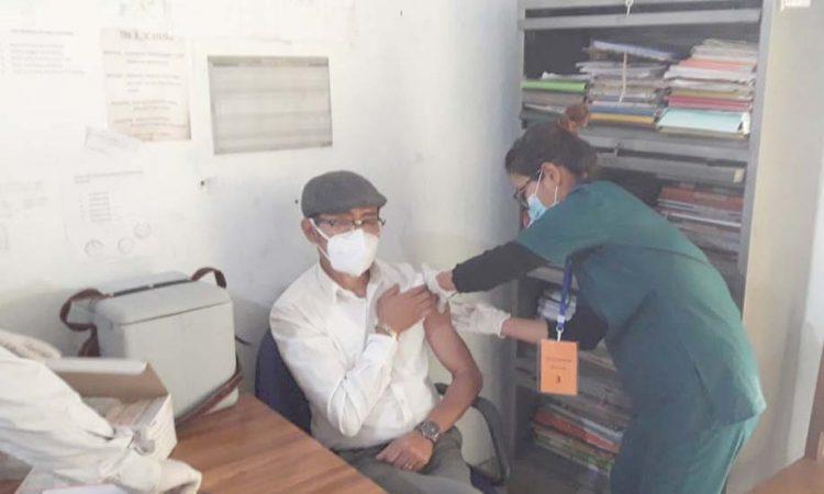 Covid 19 vaccination at Bhandari11