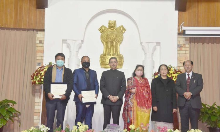 Governors award at Raj Bhavan