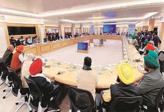 Govt farmer talks
