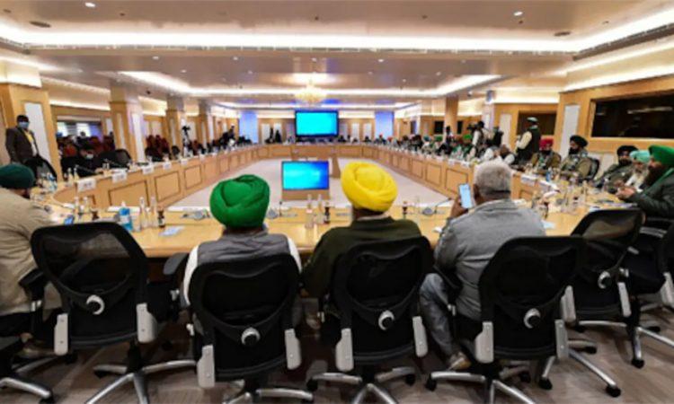 Govt farmers meet