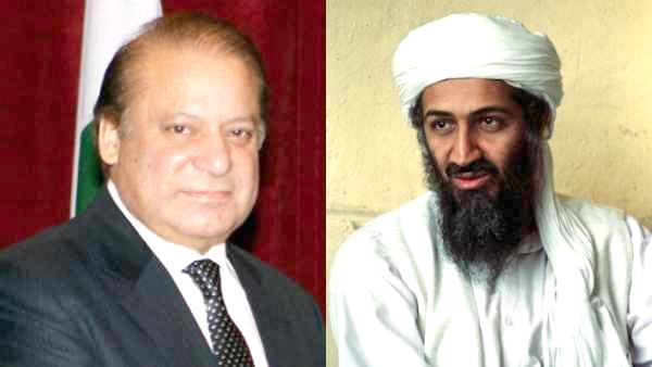 Nawaz Sharif Osama bin Laden