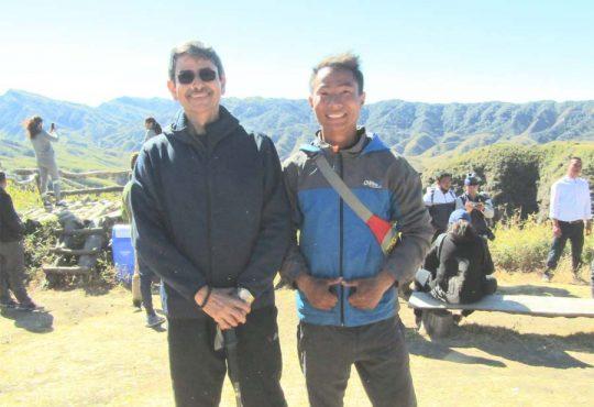 Nicholas with R N Ravi