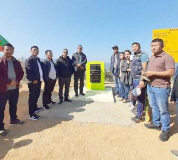 Pangnyu Phom inaugurated RIDF project Horti Link Road