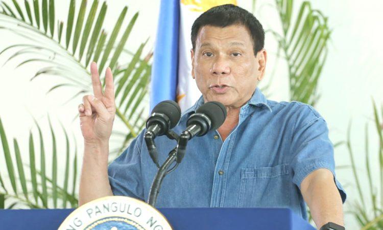 Philippine leader Rodrigo Duterte