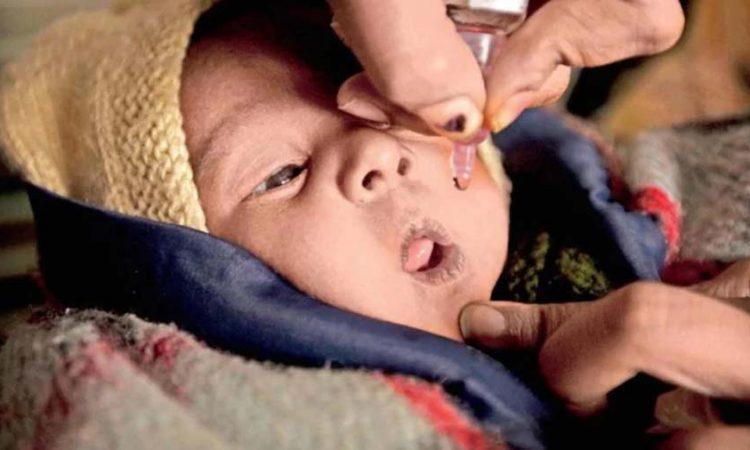 Polio drops