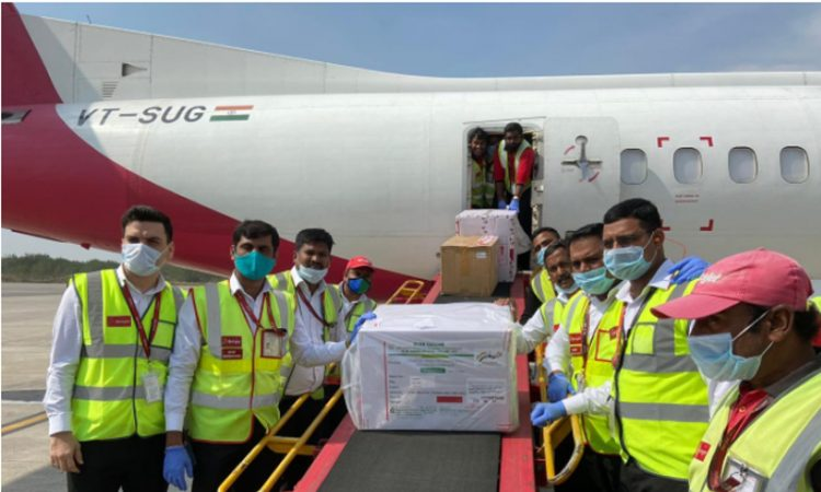 Vaccines arrive at Ghy