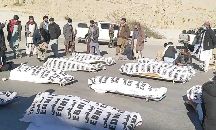 11 Coal Miners From Pakistan's Minority Shia Hazara Community Shot Dead In  Balochistan - Nagaland Page