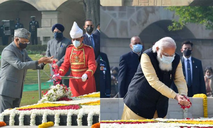 tribute to gandhi