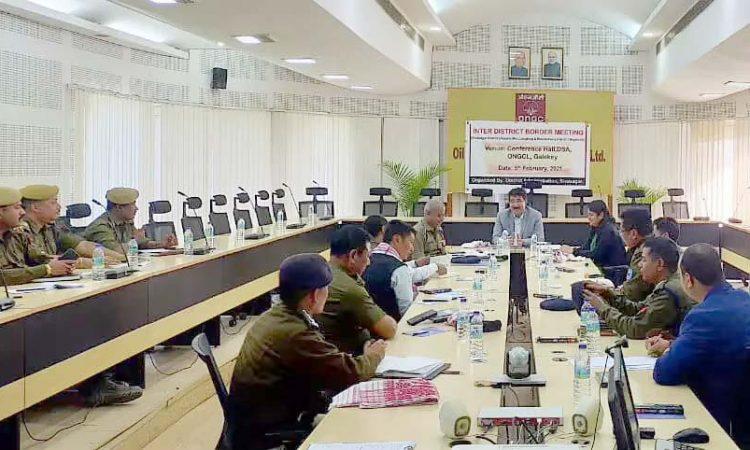 Assam Nagaland border meeting