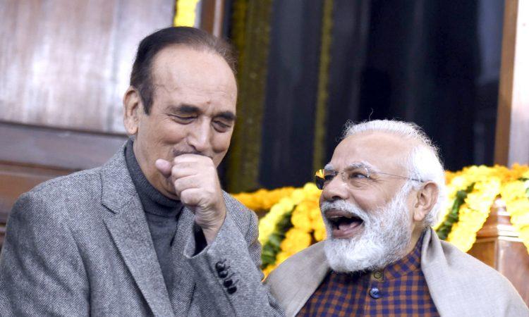 Azad praises PM