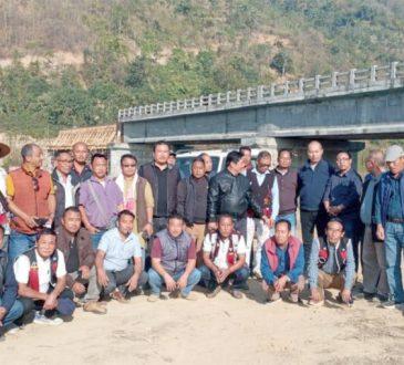 Doyang bridge inspection