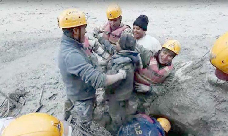 ITBP rescue