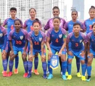 Indian womens football team