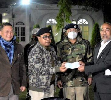Manipur police rewarded