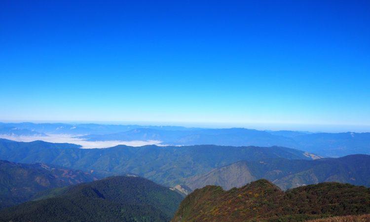 Mt. Khelia Nagaland mountain