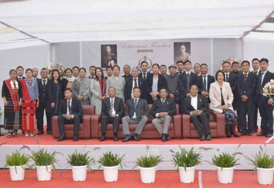 Outgoing officers of Nagaland Lokayukta