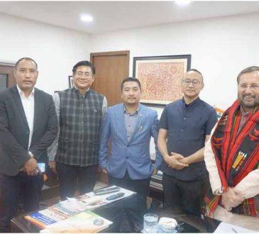 PAD leaders with Prakash Javedekar