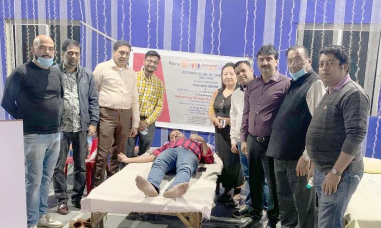 Rotary Blood donation