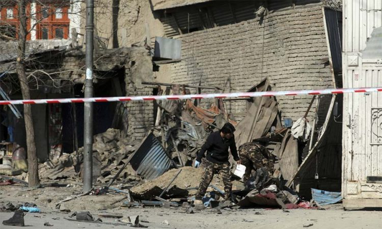 blast in afghan