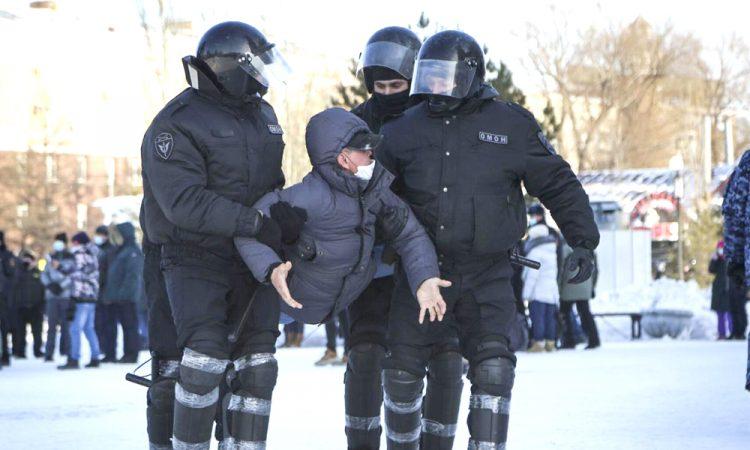 pro Navalny protests