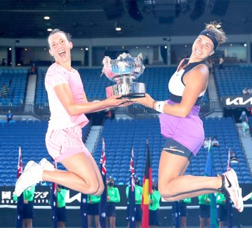 womens doubles title