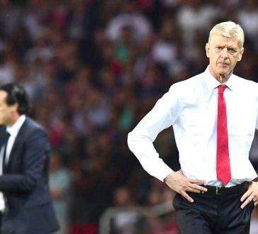 Arsenals French manager Arsene Wenger
