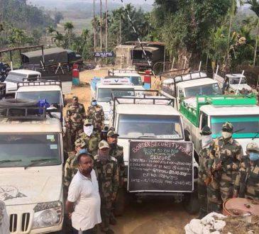 BSF seizes dry peas