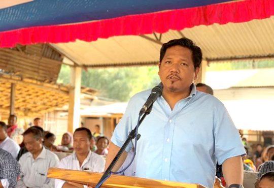 Chief Minister Conrad K Sangma