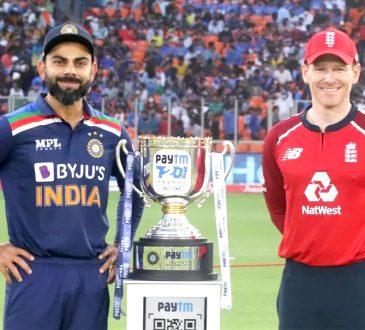 Ind vs Eng 5th T20I