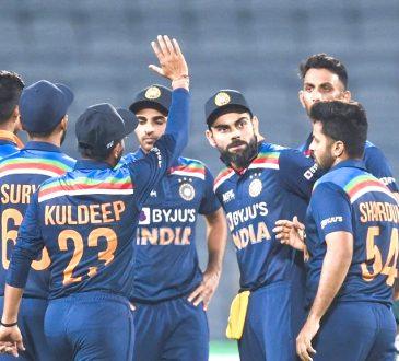 India eye series victory