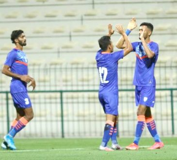 India hold Oman