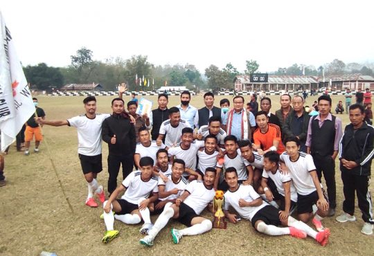 Jalukie Valley Open Football Trophy
