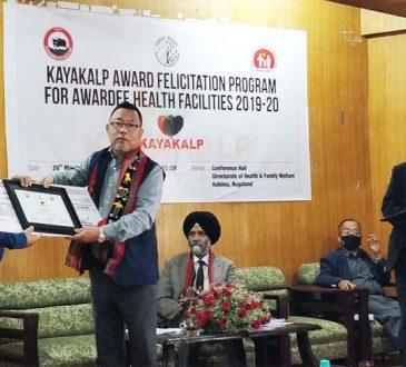 Kayakalp award