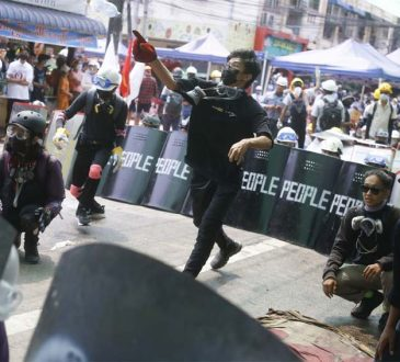 Myanmar crackdown