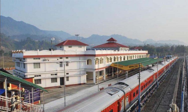 Naharlagun rly station
