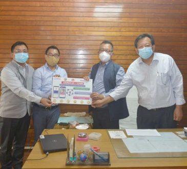 Pangnyu launches i learn app at Kohima