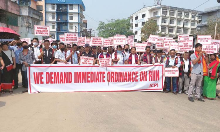 RIIN rally at Dimapur