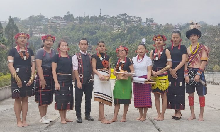 Differently-abled artist from Nagaland